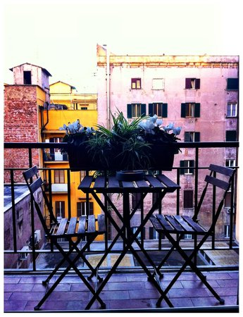 Castellani a San Pietro: Petit balcon