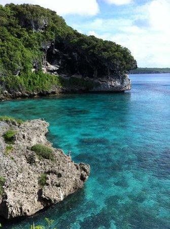 Lifou - Jokin cliffs