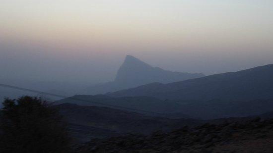 Jebel Shams Resort: Jabal Misht view from the challet