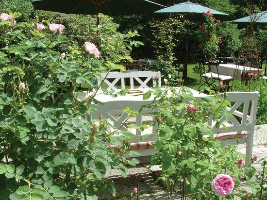 Vallasens Vardshus: Trädgården