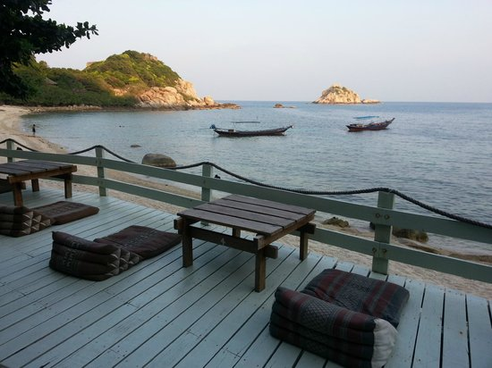 Coral View Resort Thailand: Aussicht Restaurant