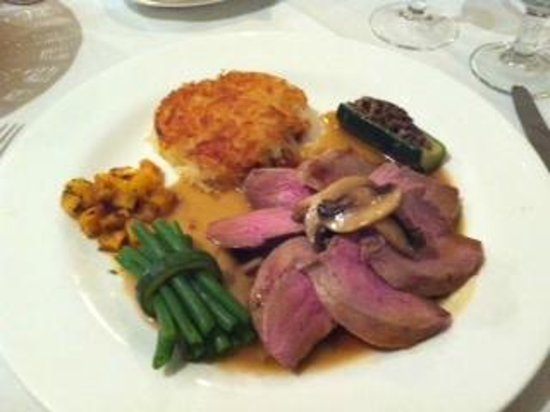 Chapel House Restaurant with Rooms: Main course...duck breast