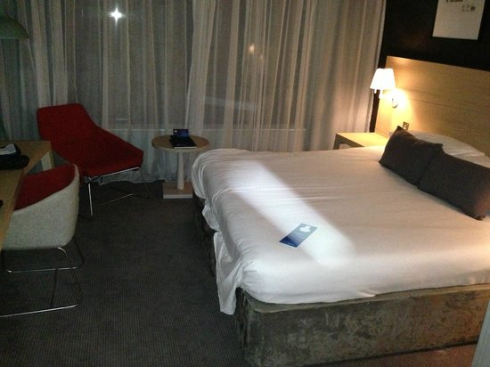 Radisson Blu Hotel, Glasgow: Standard room