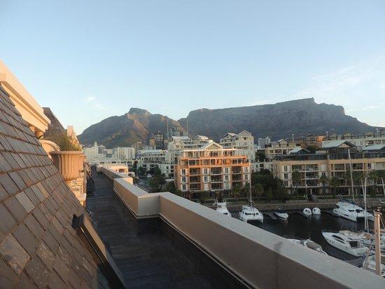 Cape Grace: daylight views from balcony