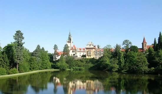 Průhonice, Republika Czeska: Pruhonice Park and Castle