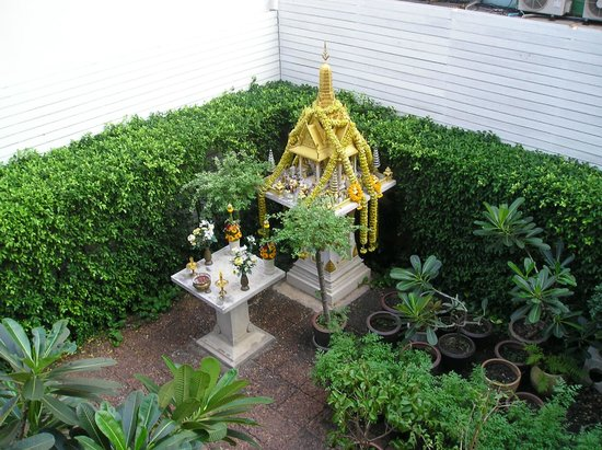 Feung Nakorn Balcony Rooms & Cafe: jardin