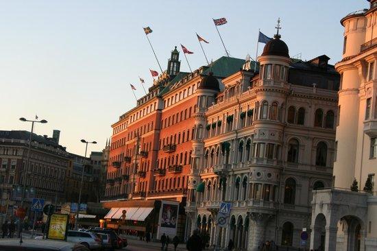 Grand Hotel: dış görünüşü