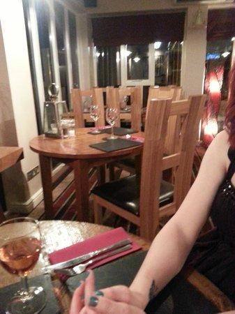 The Halfway Inn: lovely dinning room