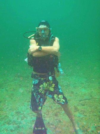 Manta Lodge: Sean Robinson your host and diver supreme