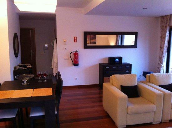 Hotel Baia da Luz: part of living room