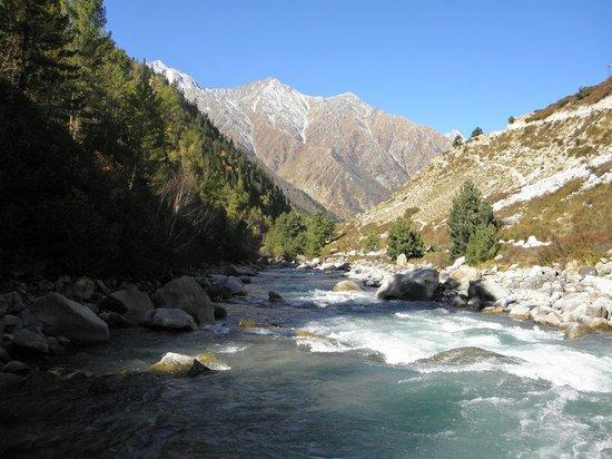 Kinnaur: baspa river