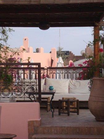 Riad Amin: Roof terrace