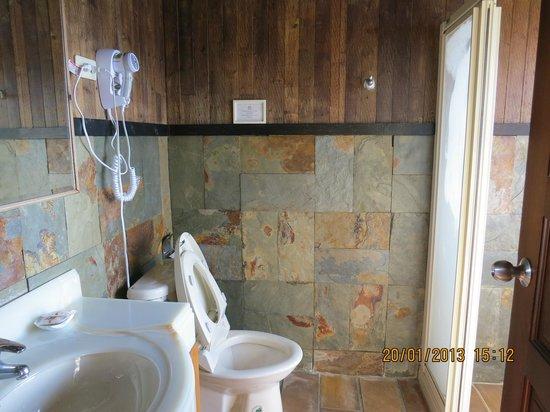 Top Cloud Villa Of Cingjing: Bathroom
