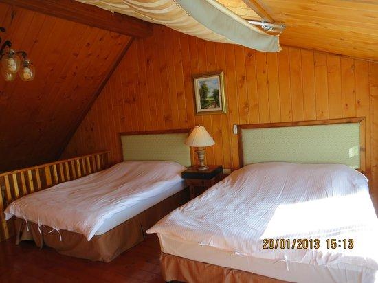Top Cloud Villa Of Cingjing: Star gazing bedroom