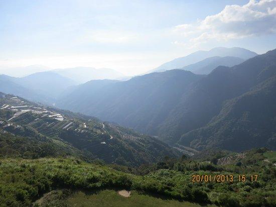 Top Cloud Villa Of Cingjing: View from room balcony