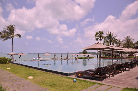 Hansar Samui Resort: At the pool