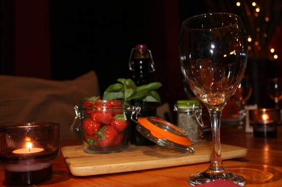 POND: strawberries and balsamic