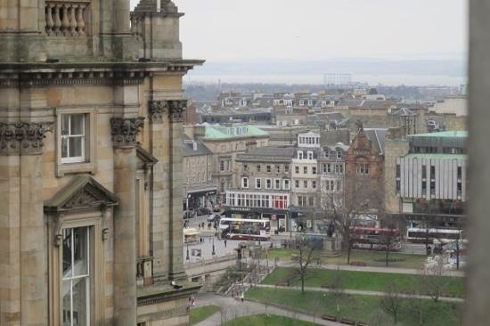 Fraser Suites Edinburgh: View from Room 605