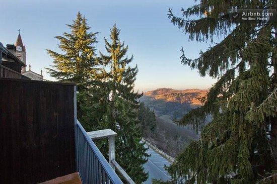 هوتل بيلافيستا: panorama dalla terrazza della camera