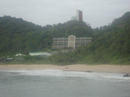Buraco Beach: Praia do Buraco vista do costão.
