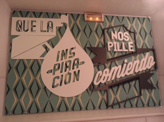 Le slogan foto di la musa latina madrid tripadvisor - La musa latina ...