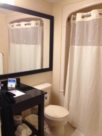 Comfort Inn Cambridge: New Bathroom