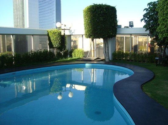 Hotel Casa Blanca Mexico City: Gigantischer Ausblick über Mexico City