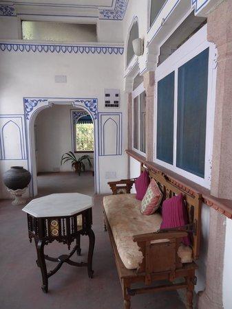 Diggi Palace: Sitzplatz