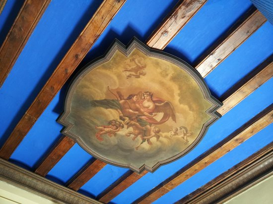 Hotel Jaume I: ceiling