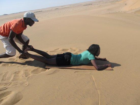 Dune 7 Adventures: Sandboarding