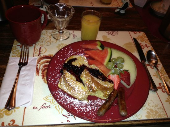 Piney Hill Bed & Breakfast : french toast version 2