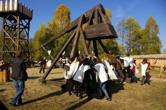 Pobiedziska, Polska: Strzał z Dużego Trebusza