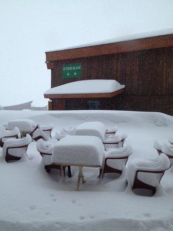 Hotel Club mmv Les Melezes: terrasse