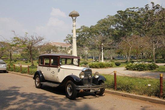 Victoria Angkor Resort & Spa: Wunderschöne alte Citronen von ca 1929