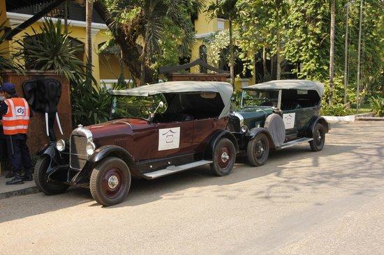 Victoria Angkor Resort & Spa: Citön war schon immer ein Auto zum Liebhaben