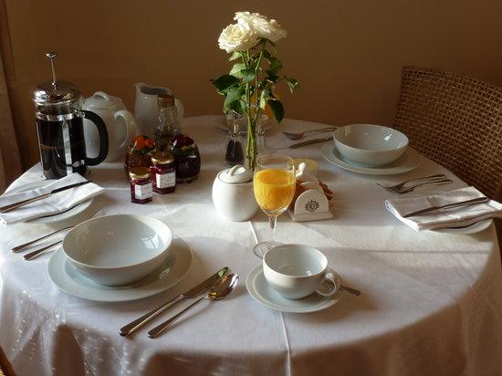Aviemore Hillside Lodge: Breakfast is areal treat