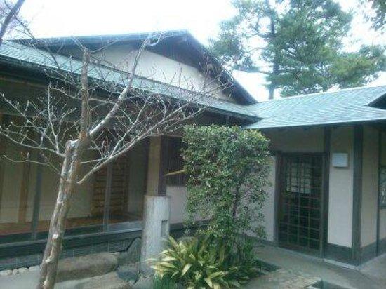 Akebonoyama Agricultural Park: 日本庭園の茶室