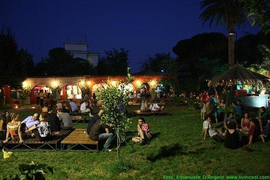 il giardino del Circolo degli Artisti