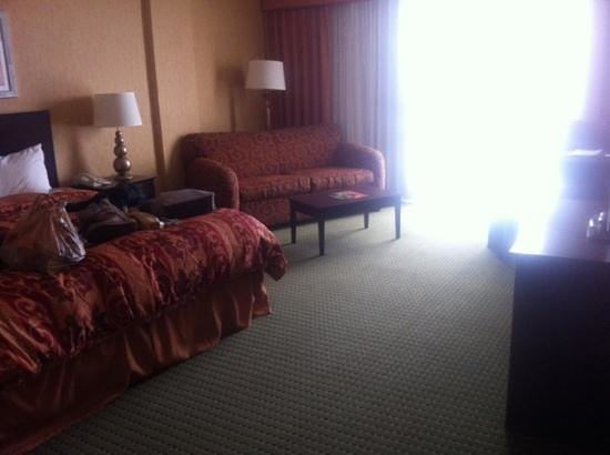 University Plaza Hotel and Convention Center: my room