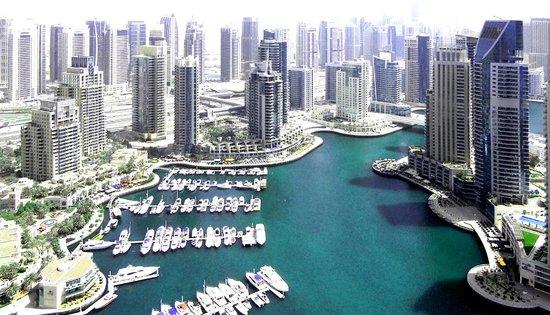 فندق وأجنحة ماريوت هاربر دبي: View from floor 38