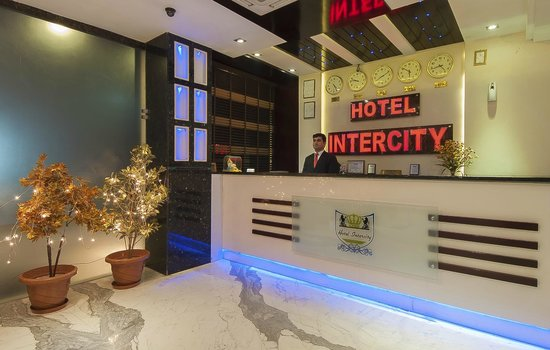 Hotel Intercity: Reception