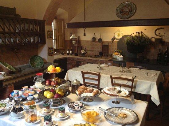 Palazzo Leopoldo Dimora Storica & Spa: colazione!!!