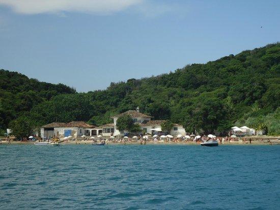 Pousada Alcobara: Praia