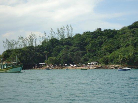 Pousada Alcobara: Praia da azeda