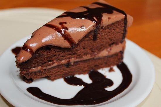 Syps Restaurant and Bar: Chocolate fudge cake