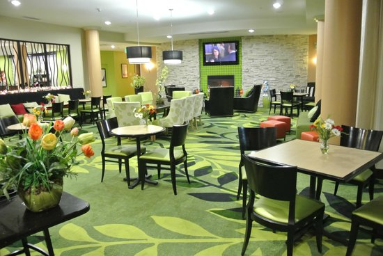 Fairfield Inn & Suites Elkin Jonesville: The eating area