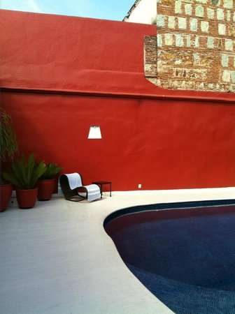 Casa Oaxaca: The beautiful swimming pool