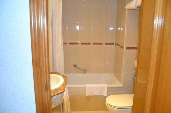 El Churra Vistalegre: vasca/doccia