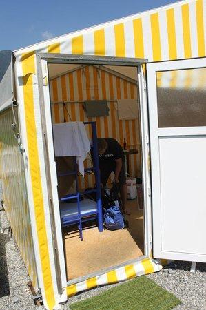 Balmers Tent Village : room