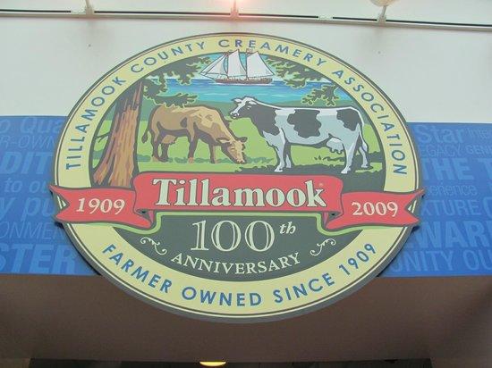 Tillamook Cheese Factory: The Tillamook seal.